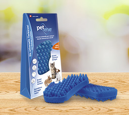 pet+me® Bürste Blau