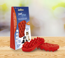 pet+me® Bürste Rot